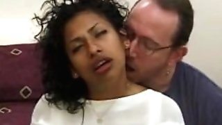 Classical porno sextape of interracial group joy