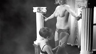 Female dominance Whips and Loves Her Female sub