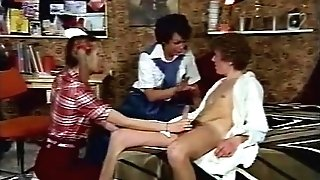 Brutha Fucking Step-sister And Her Friend Retro