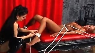 Hypnotizing blonde bottom damsel predominated by the relentless Natasha Sweet