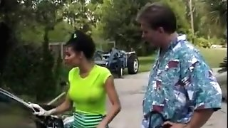 Hank Armstrong & Anna Malle From Sexy Carwash Ladies (1998)