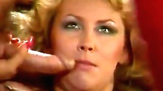Kim Carson And Blonde Get Dual Dicked For 80s Four Way Scene