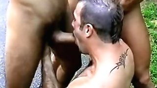 Outdoor Threeway On A Jeep In Robert Prion's Backdoor Advances