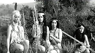 Tribal Dancing of Naked Indian Damsels