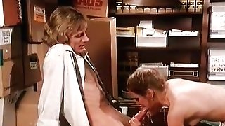 Threesome classical pornography scenes with colleagues